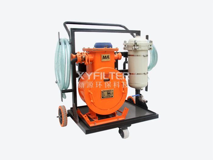 防爆式箱式滤油机FLYC-100C-010