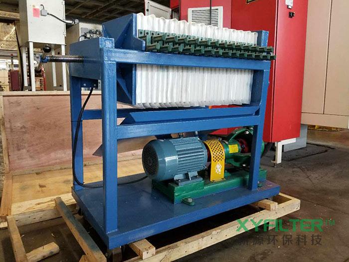 LY板框式滤油机为河北电厂提供清洁能源